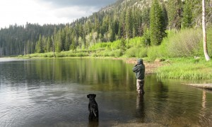 Fly Fishing Sotcher Lake