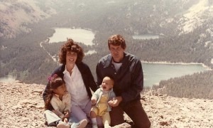 Family in Mammoth