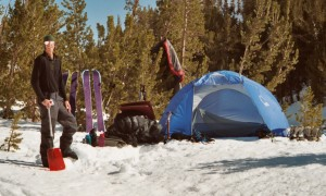 Snow Camping, Rock Creek