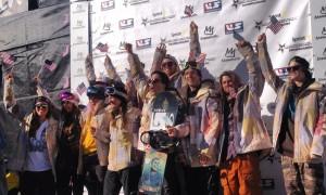 U.S. Snowboard Team 2014
