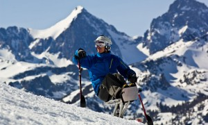 Two years after paraplegic skier, Jeremy McGhee, climbs Bloody Mountain he talks about the expedition. Photo © Nick Souza