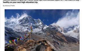 How to Beat Altitude Sickness // Backpacker Magazine