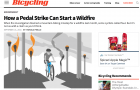 How a Pedal Strike Can Start a Wildfire // Bicycling