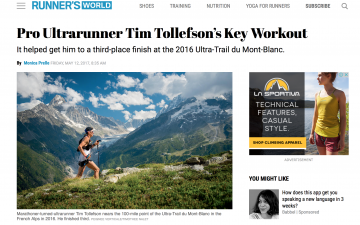Mountain Man: A Shift From Roads to Trails Elevated Tim Tollefson's Career // Runner's World