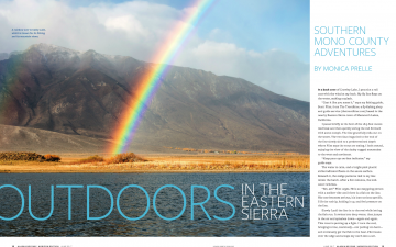 Outdoors in the Eastern Sierra // Alaska Airlines Magazine