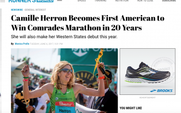 Camille Herron Becomes First American to Win Comrades in 20 Years // Runner's World