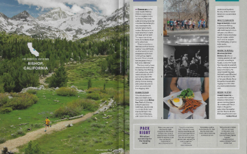 Bishop, CA Summer Travel Issue // Runner's World