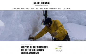 The Life of an Eastern Sierra Avalanche Forecaster // REI Co-op Journal