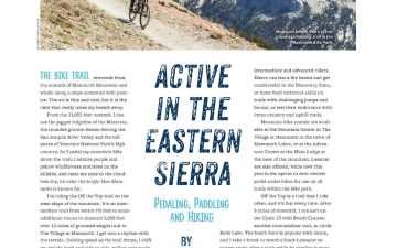 Active in the Eastern Sierra // Alaska Beyond