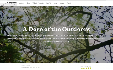 A Dose of the Outdoors // REI Co-op Journal
