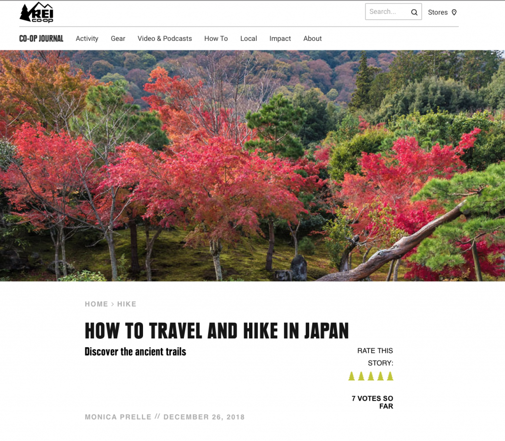 How to Go Hiking in Japan // REI Co-op Journal | Monica Prelle