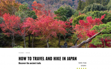How to Go Hiking in Japan // REI Co-op Journal