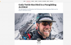 Cody Tuttle Has Died in a paragliding Accident // Outside Online