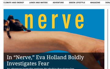 In 'Nerve,' Eva Holland Boldly Investigates Fear // Sierra Magazine